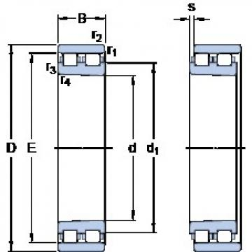 105 mm x 160 mm x 41 mm  SKF NN 3021 KTN9/SP roulements à rouleaux cylindriques