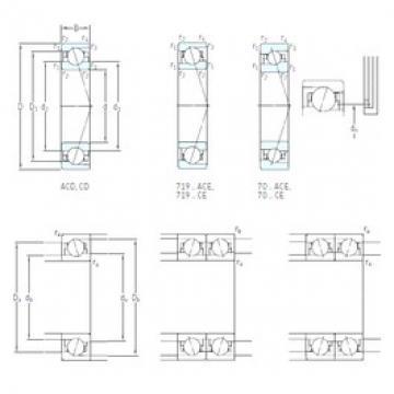 15 mm x 28 mm x 7 mm  SKF 71902 CD/P4A roulements à billes à contact oblique