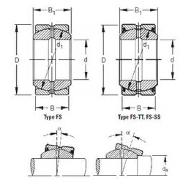 Timken 180FS260 paliers lisses
