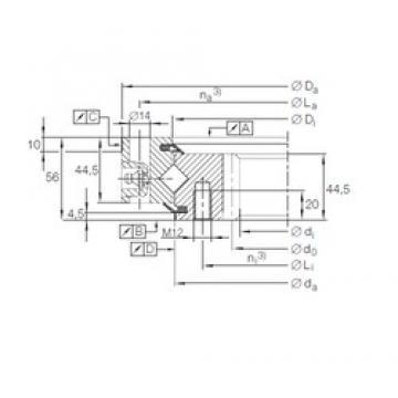 INA XSI 14 0644 N roulements à rouleaux de poussée