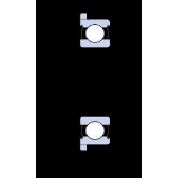 35 mm x 47 mm x 7 mm  SKF W 61807 R-2Z roulements rigides à billes
