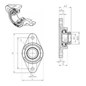 SNR ESFL209 unités de roulement