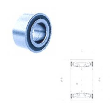 40 mm x 74 mm x 36 mm  PFI PW40740036/34CS roulements à billes à contact oblique
